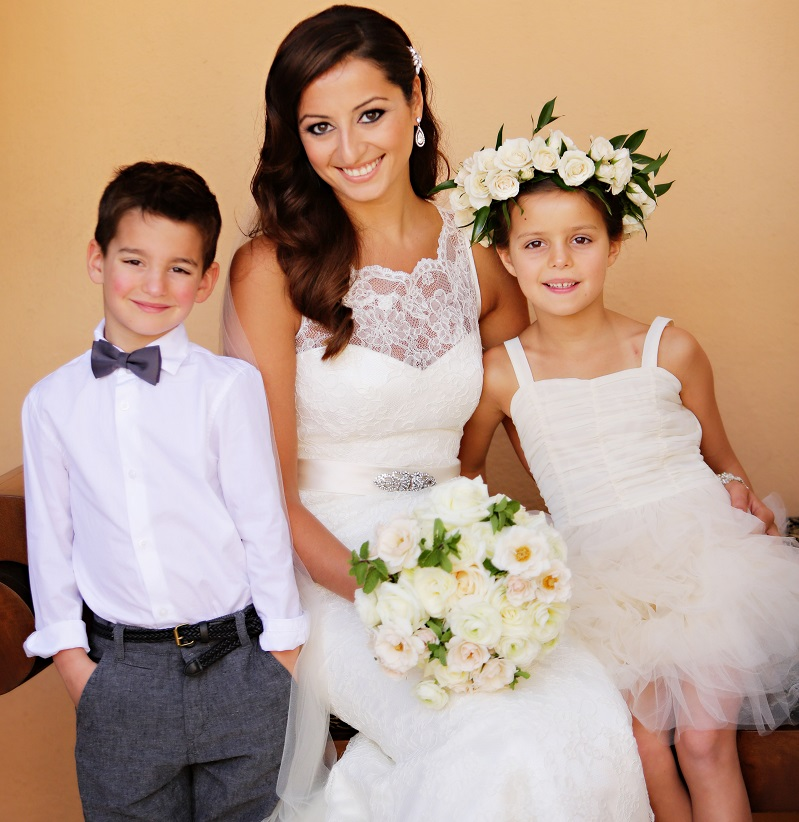 flowers for kids in weddings elena damy floral design