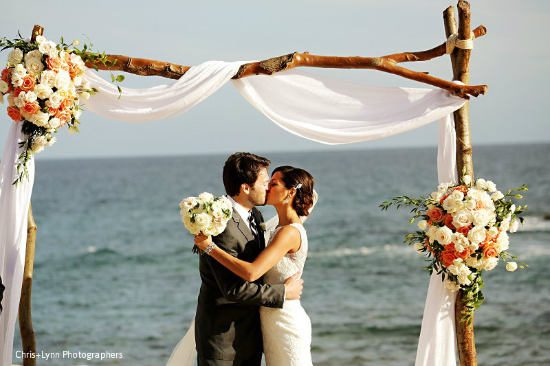 Los Cabos Weddings Luxury florists in mexico destination weddings