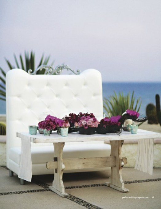 beach weddings las ventanas elena damy perfect wedding magazine