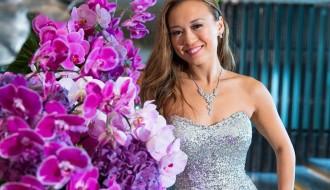 purple orchids for weddings elena damy event designs mexico