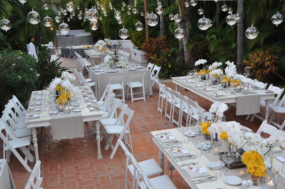 Elena Damy White And Yellow Wedding Decor One Only Palmilla