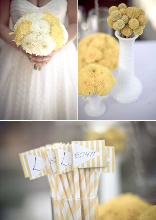 yellow and gray weddings elena damy event design cabo weddings style me pretty