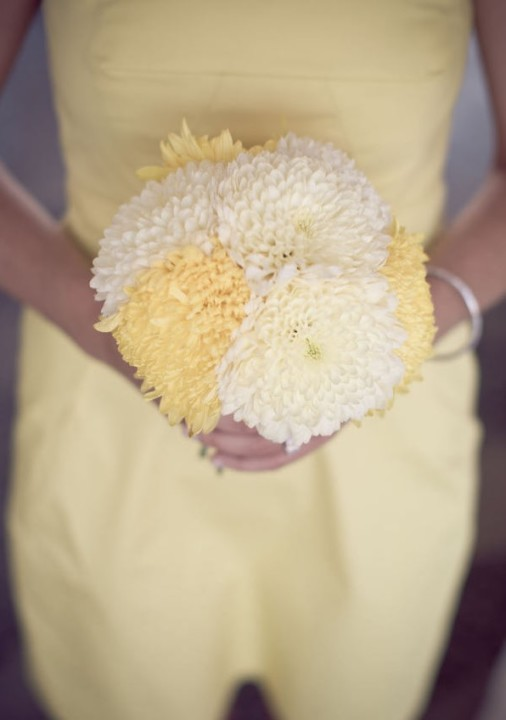yellow bridesmaids bouquets destination weddings elena damy floral design