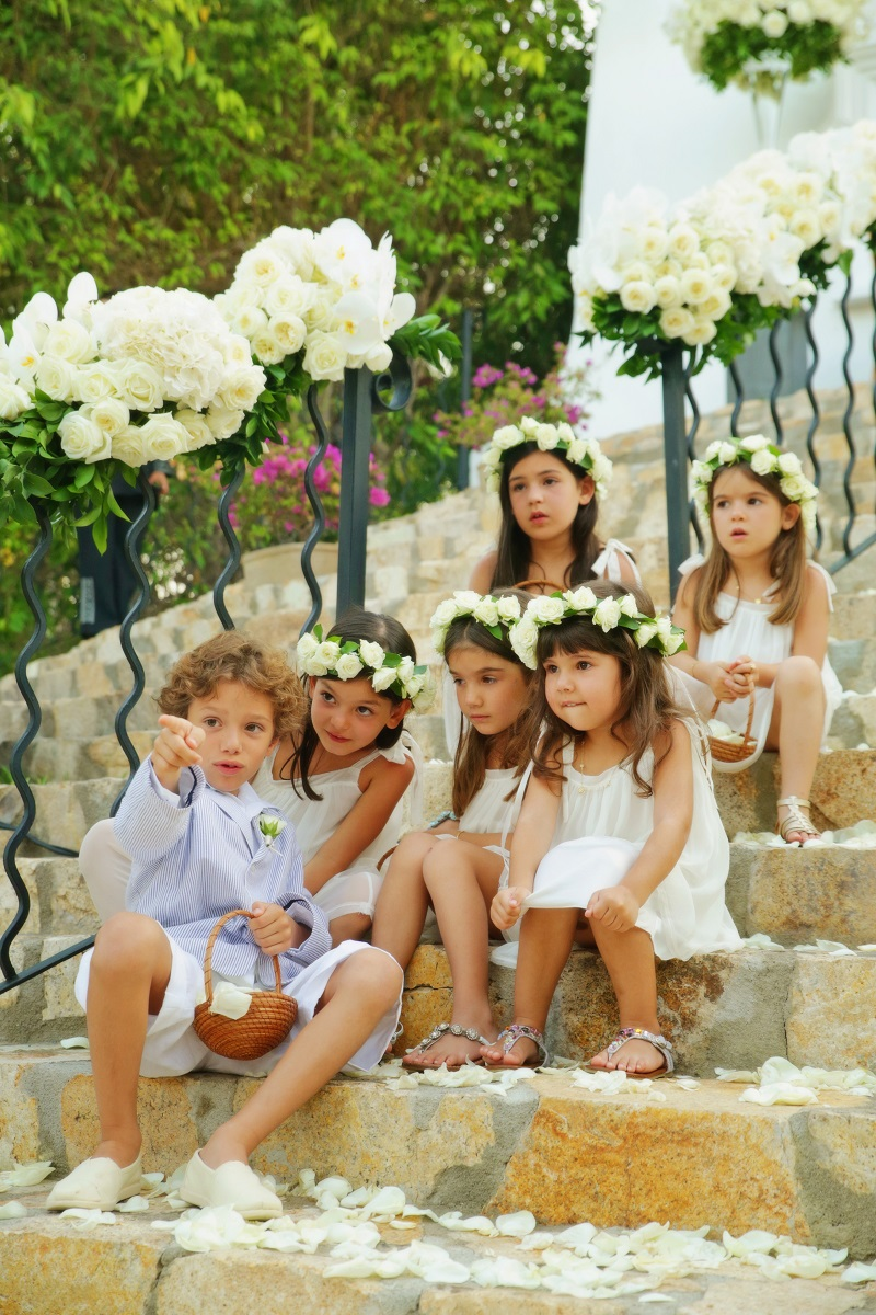 flower girls head wreaths personal flowers for kids in weddings elena damy