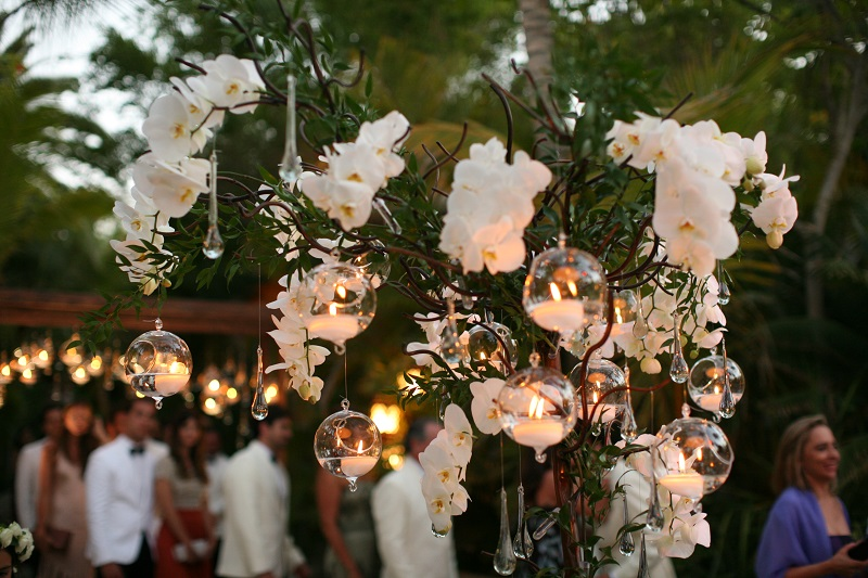 white orchids and floating candles elena damy weddings