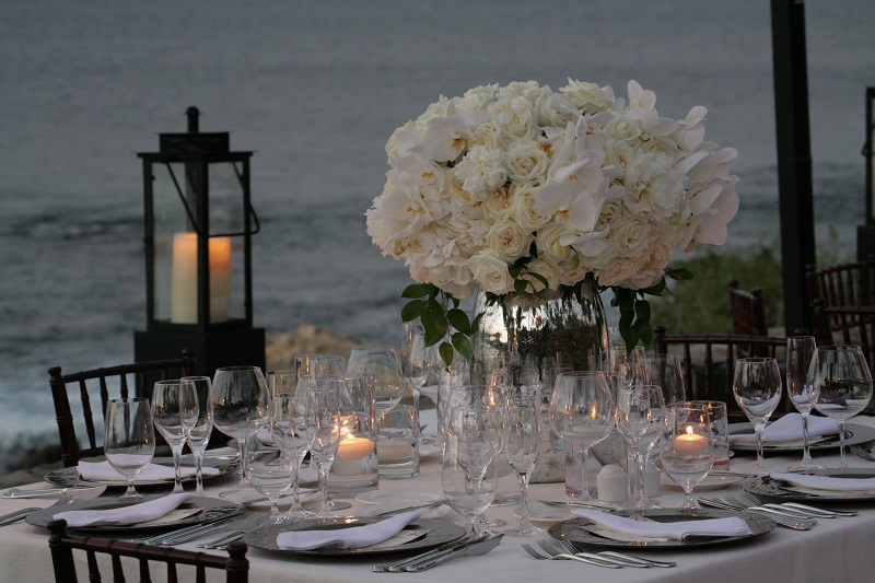 elena damy event design wedding flowers beach wedding reception mexico weddings