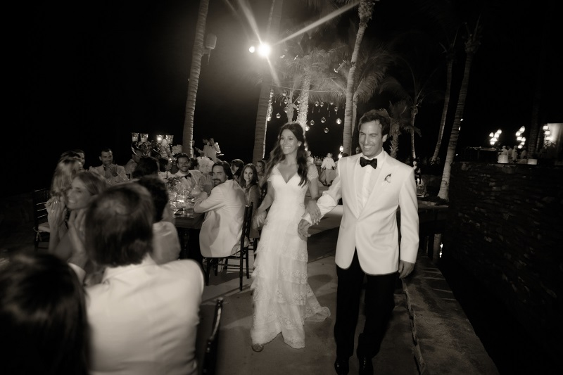 one&only palmilla weddings fireworks