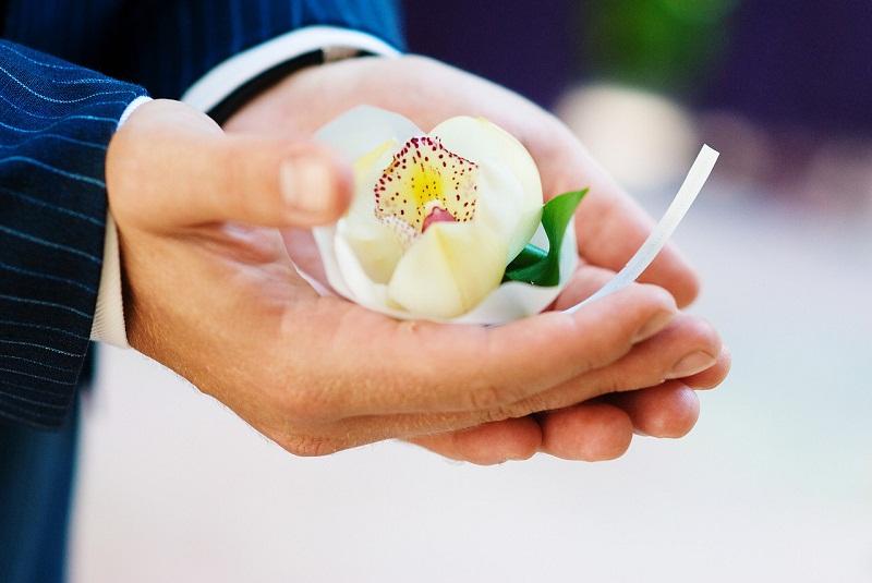 cymbidium orchid boutonnieres