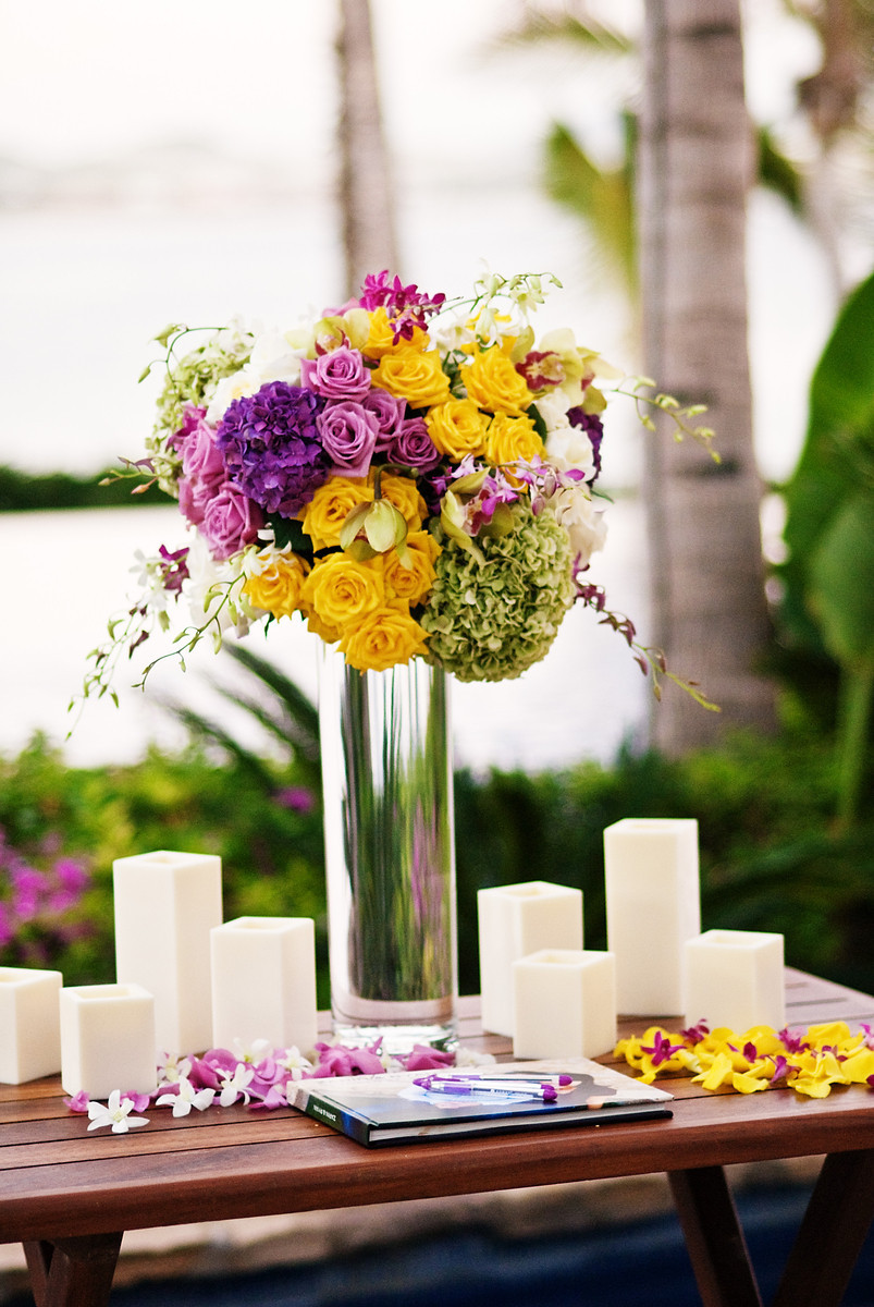 wedding place card tables for beach weddings
