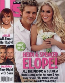 US Weekly Elena Damy Press Wedding Designers Heidi Montag Wedding