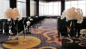 black and white wedding decor destination weddings new york elena damy event design 800