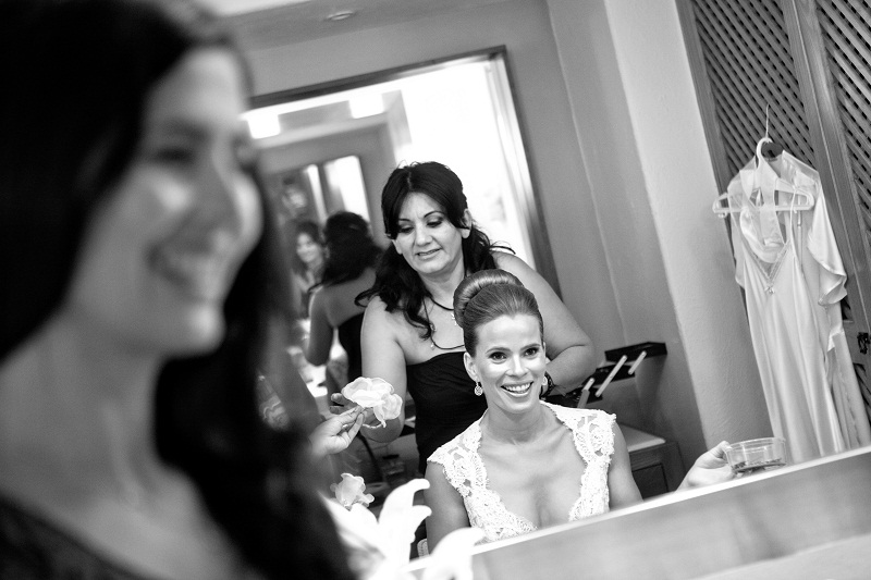 bridal preparations destination weddings mexico club campestre