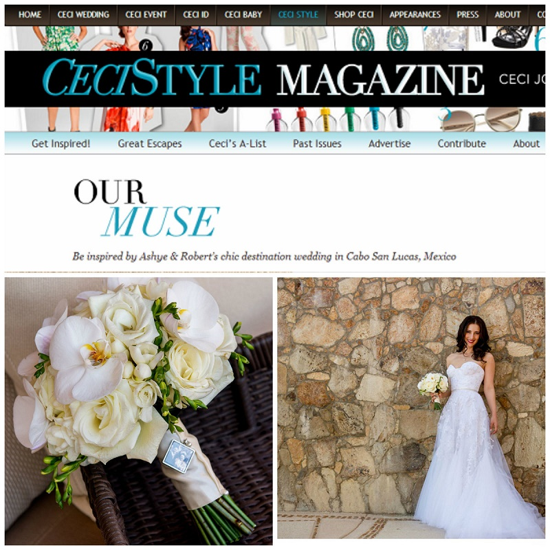 cecistyle magazine elena damy mexico weddings