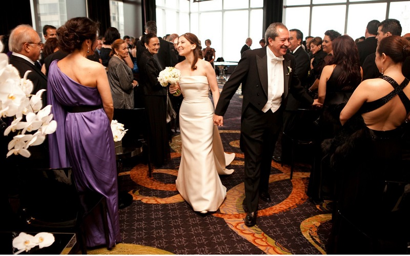 civil wedding ceremonies new york city mandarin oriental hotel elena damy event design
