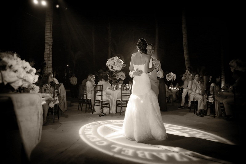 first dance photos tropical weddings one&only palmilla