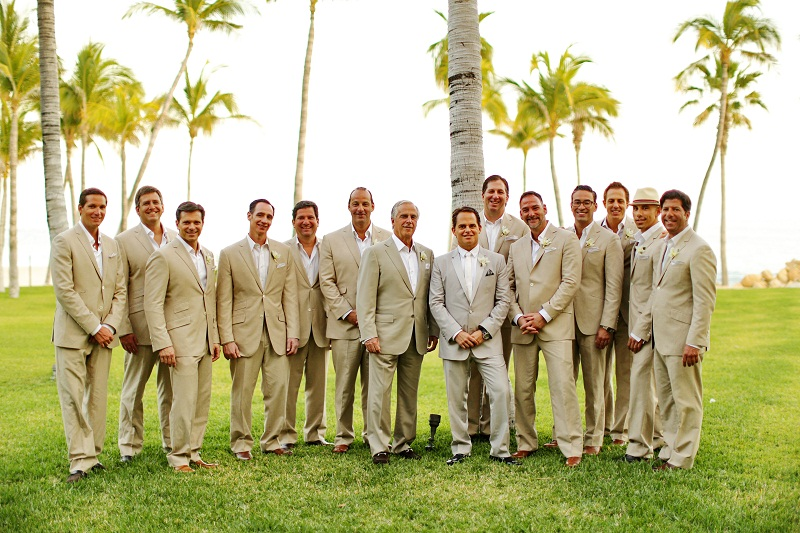 groomsmen photos beach weddings los cabos mexico