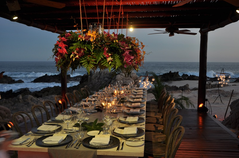 private dinners one&only palmilla mexico elena damy