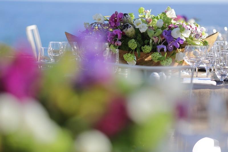 protea peonies tulips purple orchids viburnum elena damy floral design los cabos