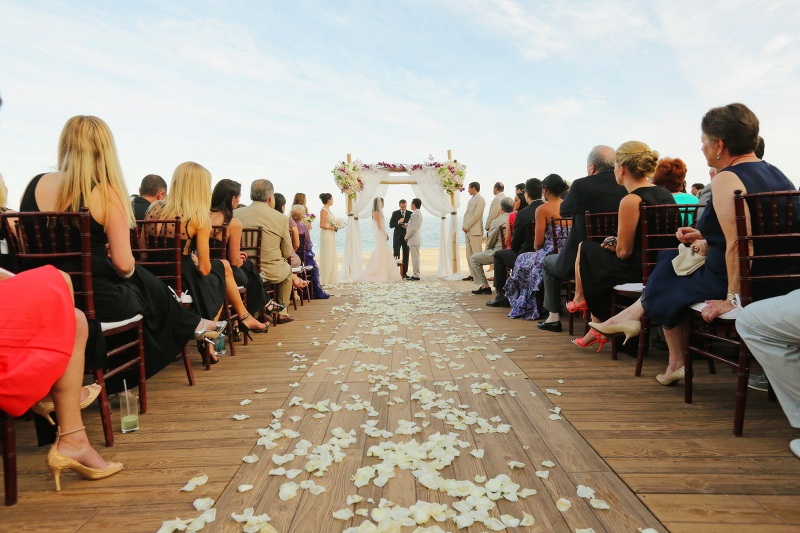 rustin wood flooring for beach weddings los cabos floral designers