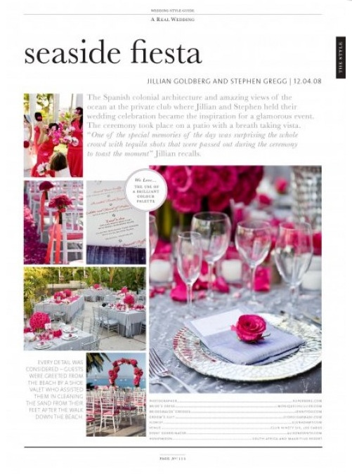 seaside fiesta elena damy floral design wedding style guide