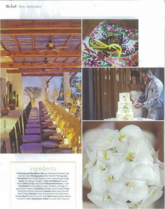 the knot real weddings los cabos mexico elena damy floral design