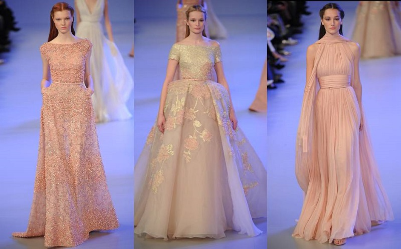 Floral Gowns from Elie Saab Spring/Summer 2014 Collection - Elena Damy