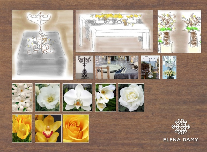 los cabos weddings best floral designers mexico elena damy