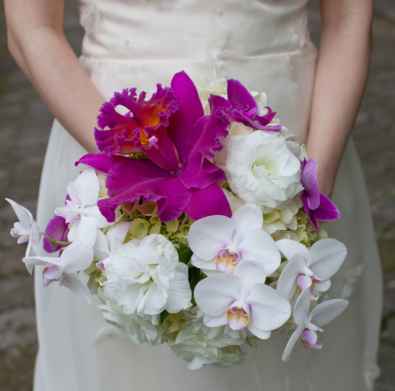 tropical bridal bouquets elena damy floral and event design