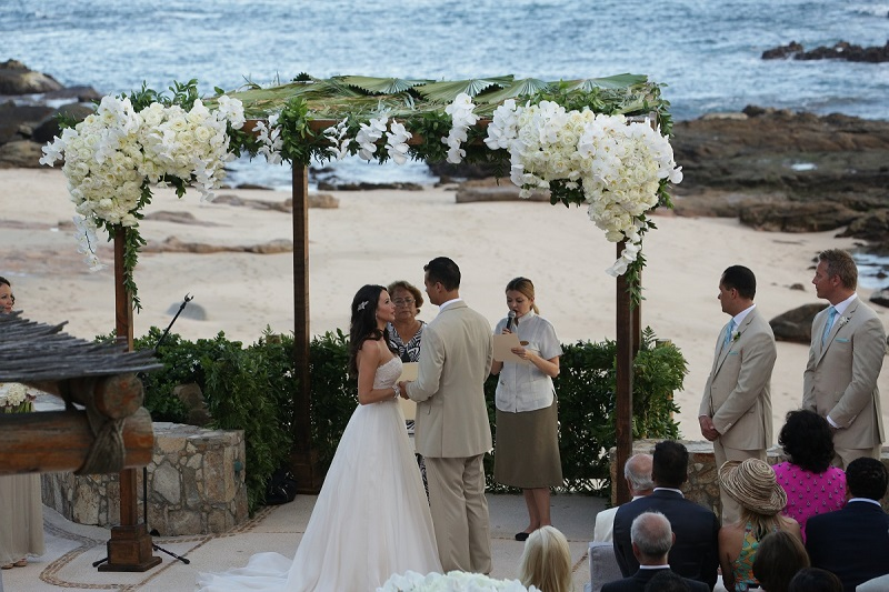 beach weddings mexico elena damy floral design
