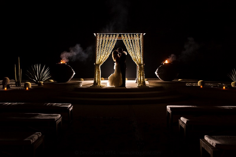 evening weddings las ventanas los cabos