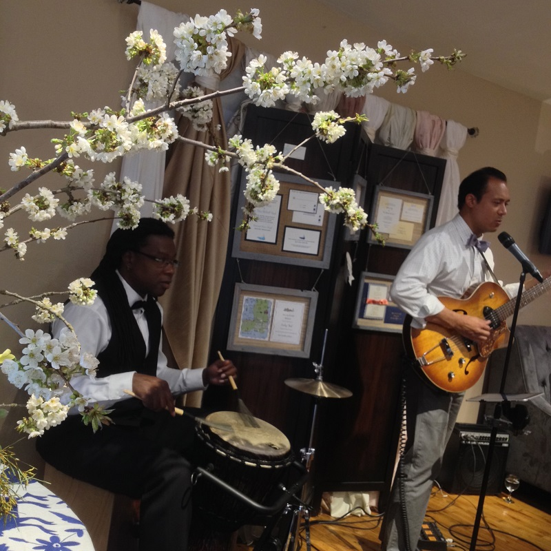 spanish guitar the bridal bar destination weddings event