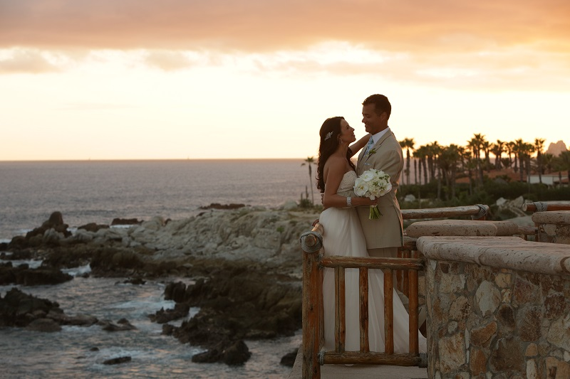 sunset weddings los cabos esperanza resort