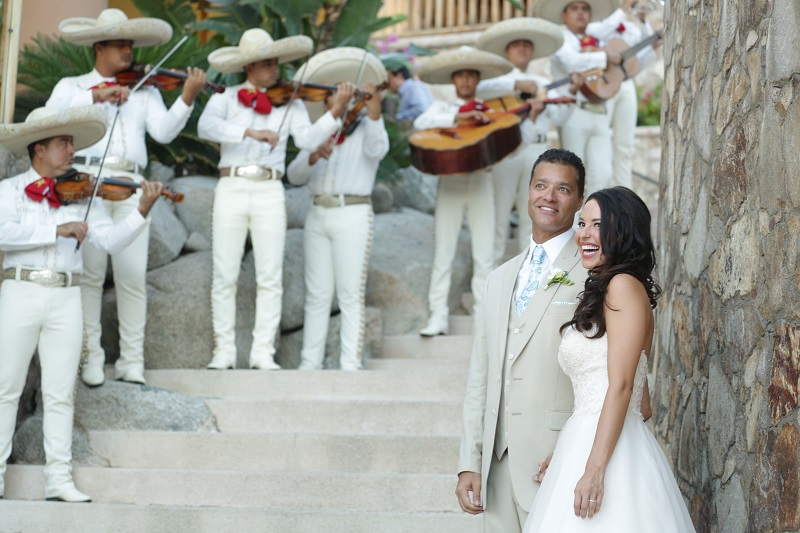 wedding recessional esperanza resort weddings los cabos mexico