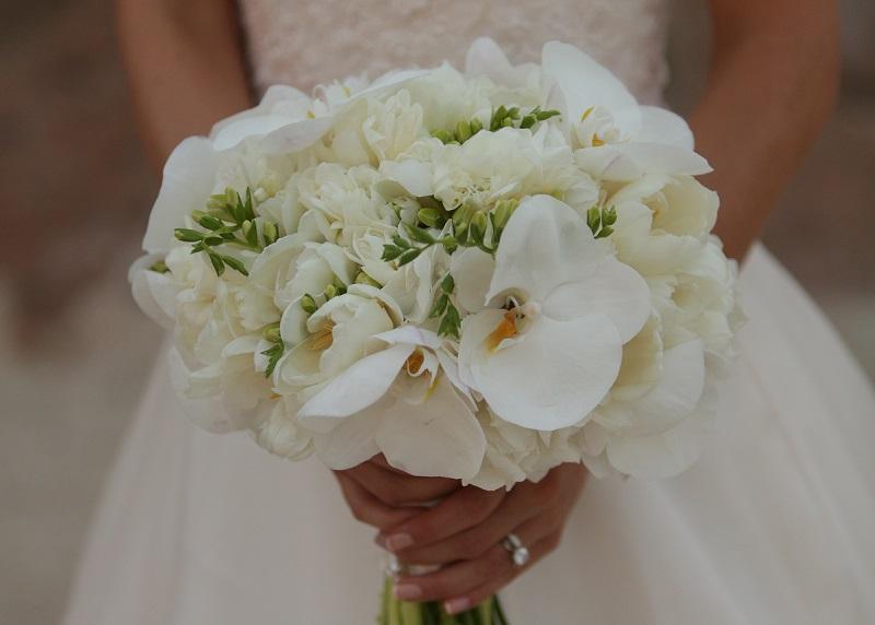 white orchid bouquet elena damy floral design