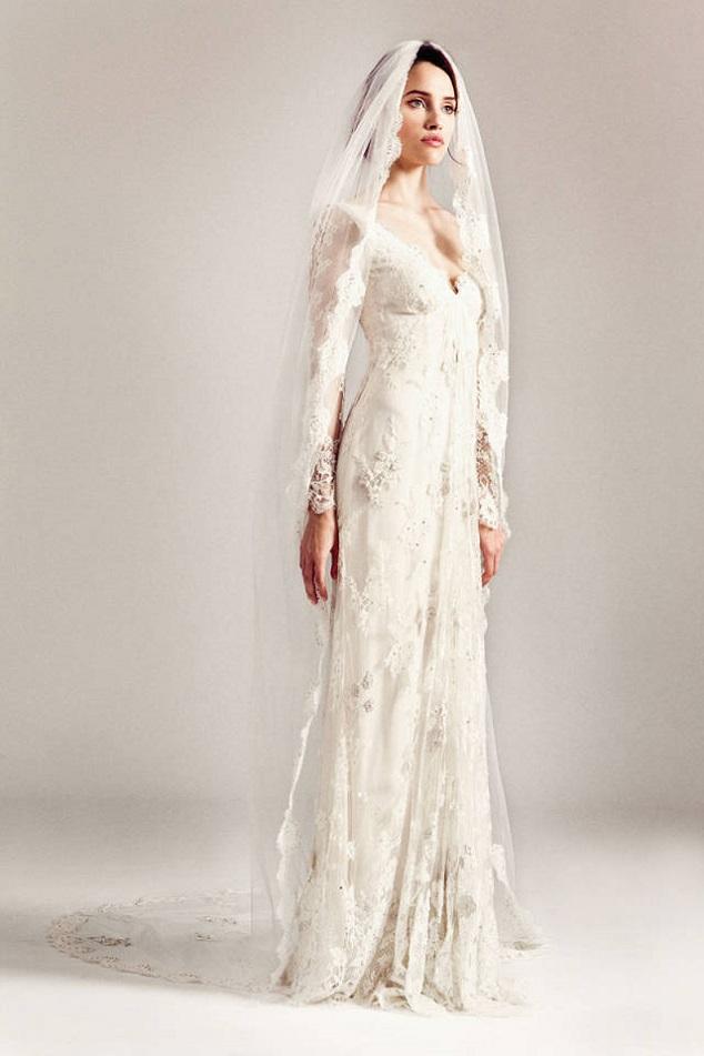 Elena Damy - temperley london spring bridal gowns lace wedding ...