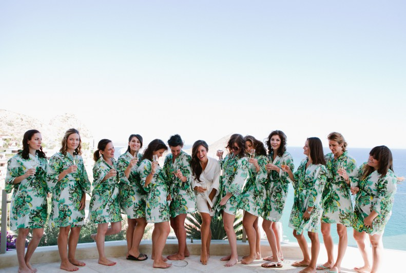 bridal party photos cabo weddings