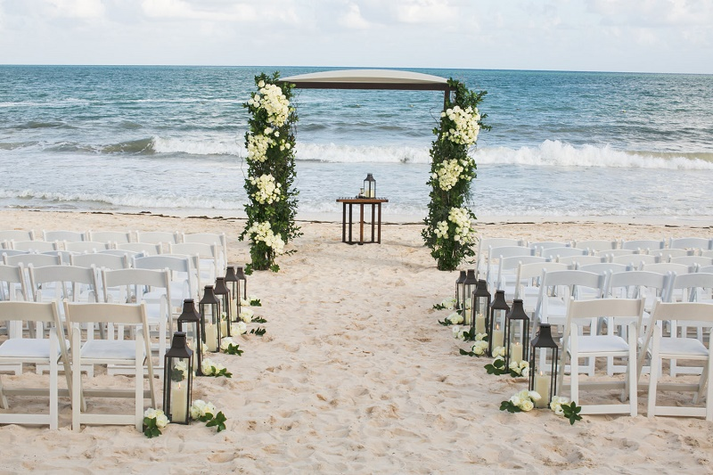 beach ceremonies elena damy floral design