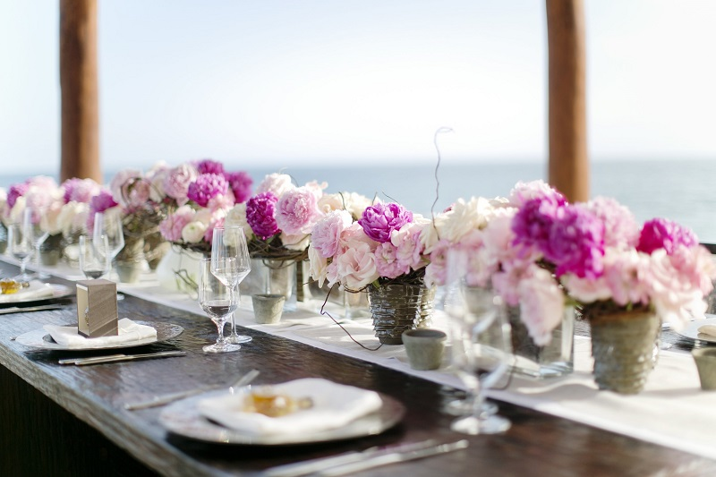 Elena Damy Floral and Event Design at Capella Pedregal Los Cabos