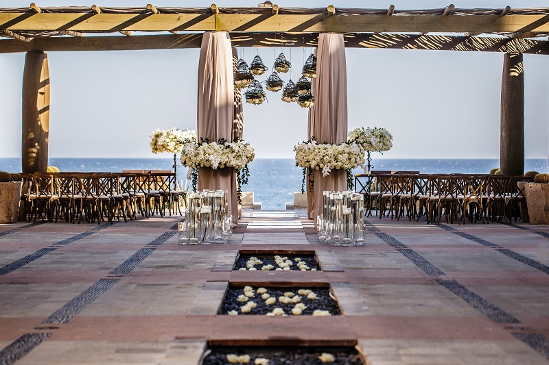 outdoor wedding ceremonies capella pedregal elena damy event design