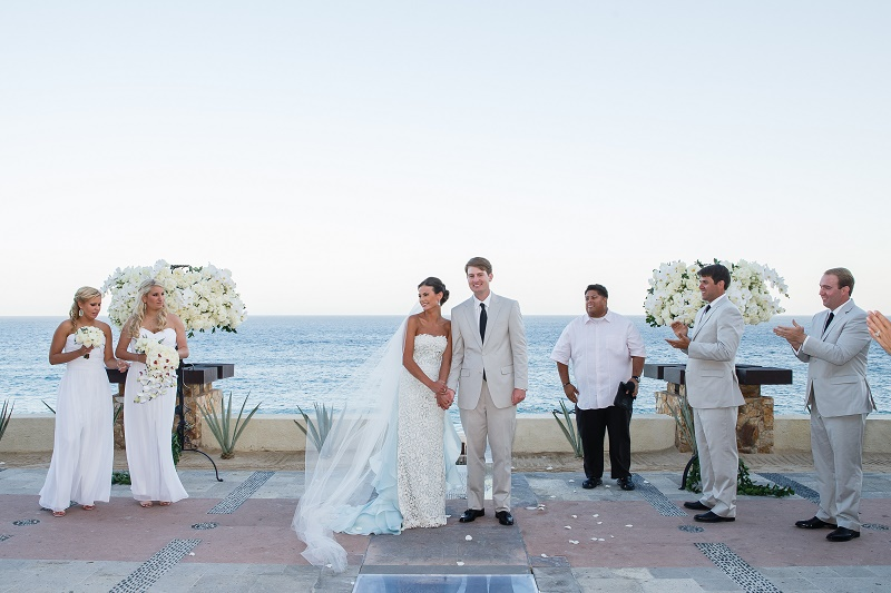 wedding ceremony capella pedregal mexico elena damy floral and event design