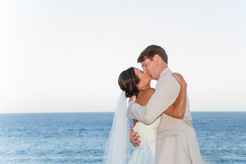 wedding kiss destination weddings mexico elena damy