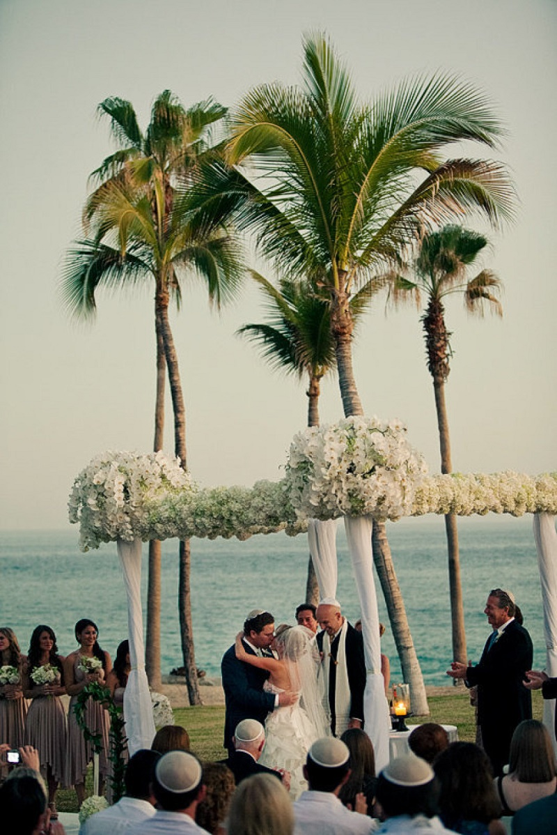 jewish chuppahs for beach weddings elena damy floral design cabo mexico