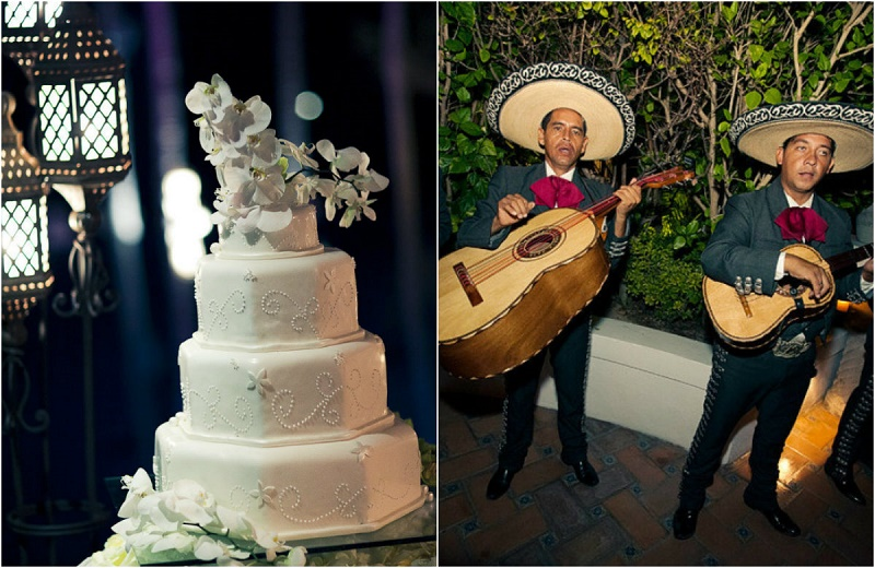 mexico weddings white cakes and mariachi bands