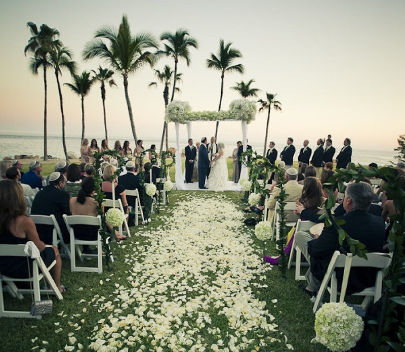 outdoor jewish wedding ceremonies mexico los cabos beach weddings elena damy floral chuppahs