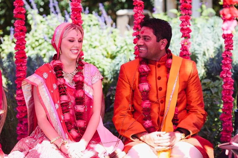 Floral Garlands Indian Weddings Hindu Mandaps Santa Barbara Wedding