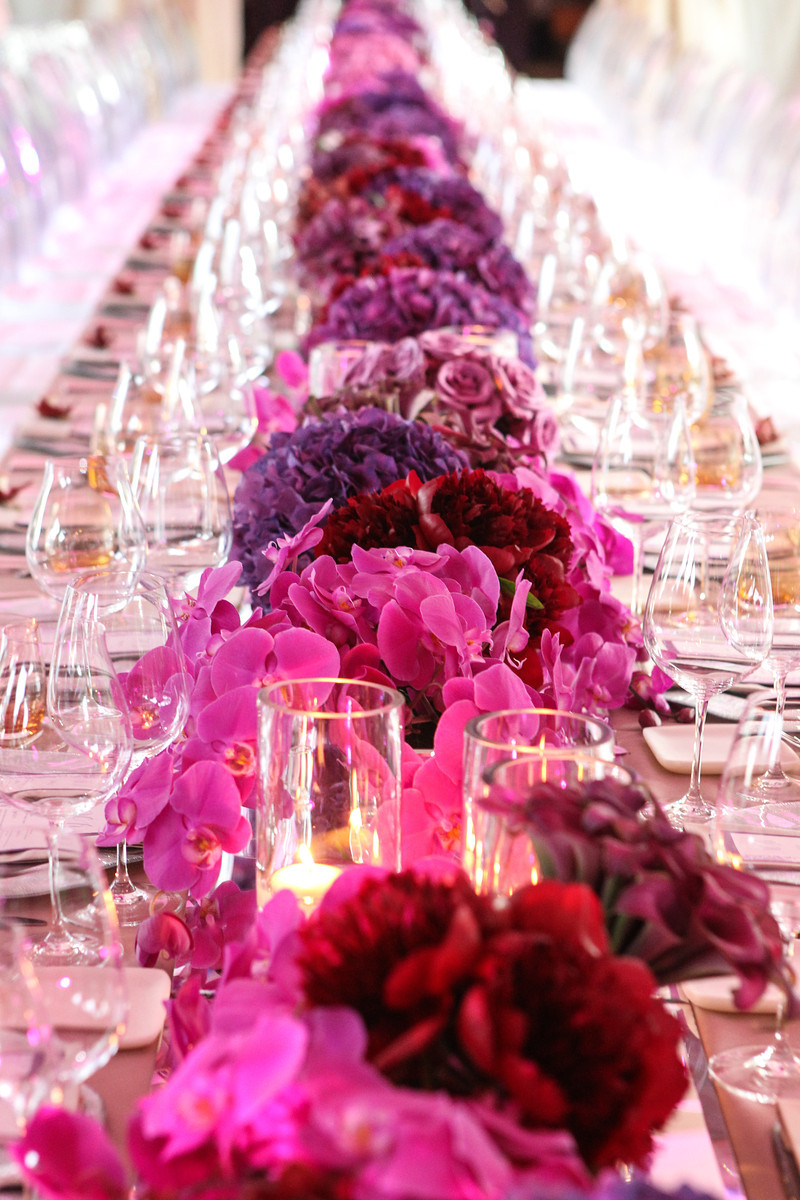 Elena Damy - low lush floral centerpieces for weddings and parties ...