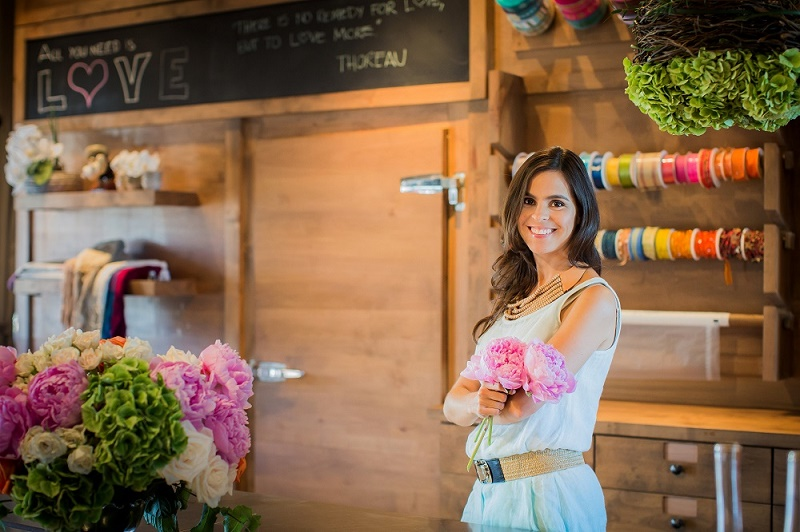 Elena Damy, Lead Floral Designer & Owner of ELENA DAMY {Photo by Sara Richardson}