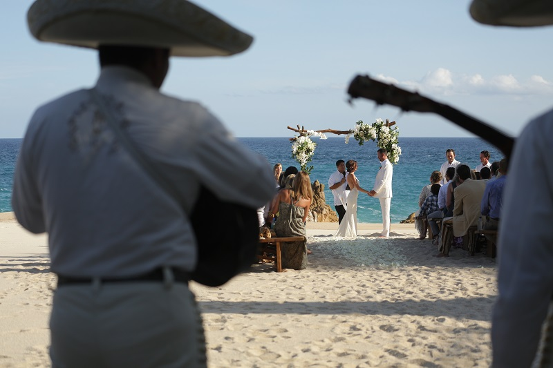 Mariachi Band for Mexico Beach Wedding Cabo San Lucas Elena Damy Wedding Planners