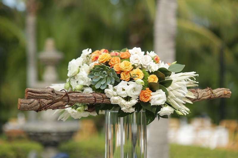 Rustic Wedding Flowers Mexico Weddings Elena Damy Floral Design Los Cabos