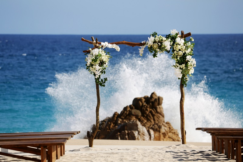 beach wedding ceremonies cabo san lucas elena damy wedding planners chris plus lynn